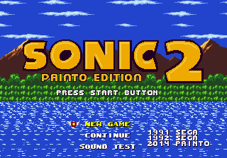 Play <b>Sonic 1 - Painto Edition 2</b> Online