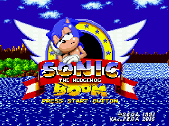 Play <b>Sonic 1 Boomed</b> Online