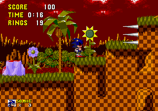 Play sonic 1 exe online gen rom hack of sonic the hedgehog retro