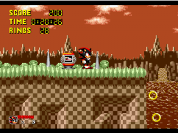 Sonic 1 Megamix Screenshot 2