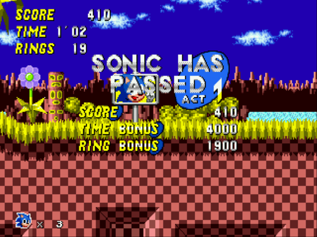 Play Sonic 1 Oergomized online for free! - Sega Genesis game rom hack