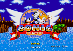 Play sonic 1 remastered online gen rom hack of sonic the hedgehog