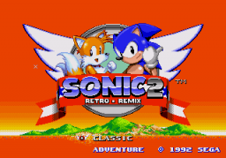 Sonic 2 - Retro Remix Title Screen