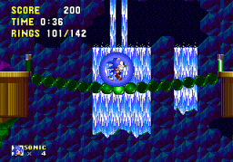 Sonic 2 Delta II Screenshot 2