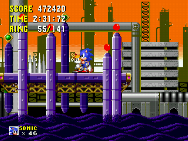 Play Sonic 2 Delta online for free! - Sega Genesis game rom hack