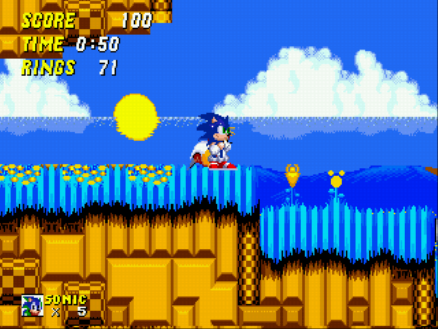 Play Sonic 2 EX online for free! - Sega Genesis game rom hack