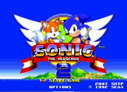 Sonic 2 SMTP Title Screen
