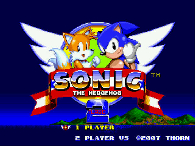 Play <b>Sonic 2 Turbo</b> Online