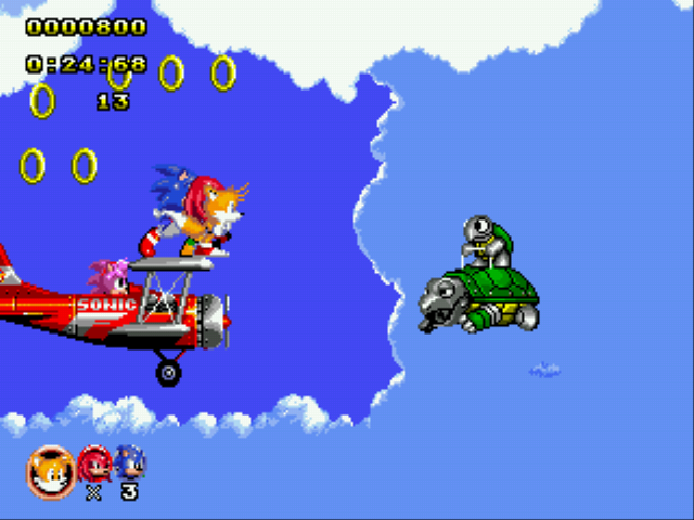 Play Sonic Classic Heroes