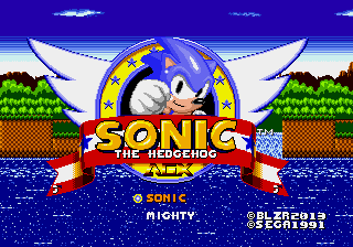 Sonic The Hedgehog AGX (First Public Release)