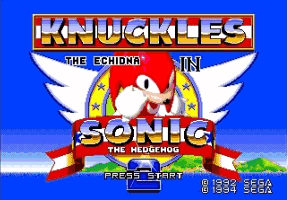 Sonic and Knuckles & Sonic 2 Title Screen