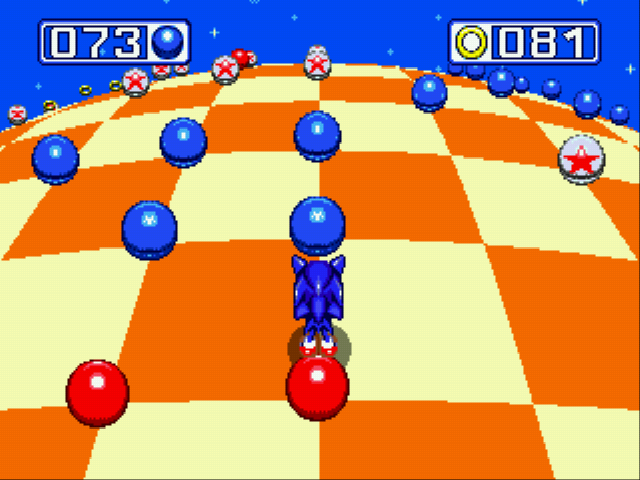 Sonic and Knuckles - Blue Sphere Plus