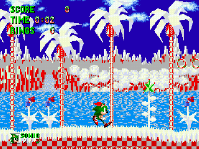 Sonic the Hedgehog - Christmas Edition Screenshot 2