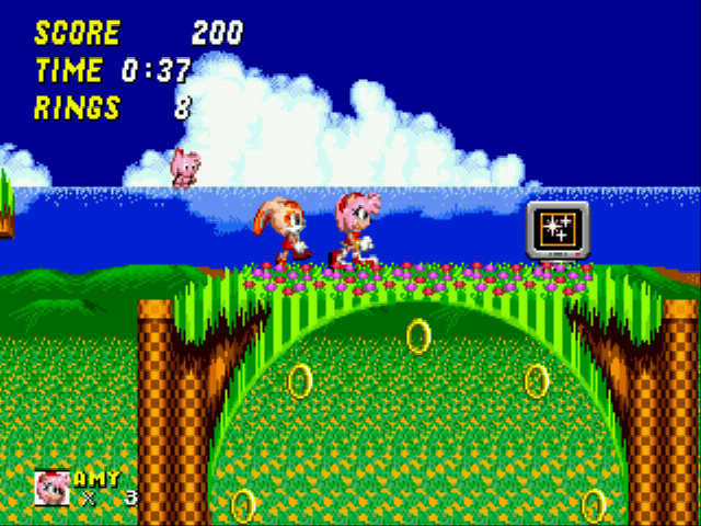Sonic the Hedgehog 2 - Pink Edition
