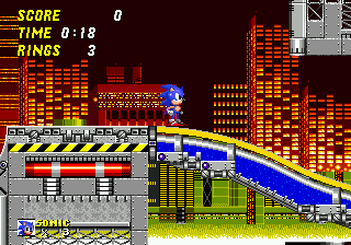 Sonic the Hedgehog 2 Screenshot 1