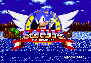 Sonic exe title screen