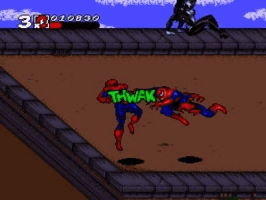 Spiderman and Venom- Max Carnage Title Screen