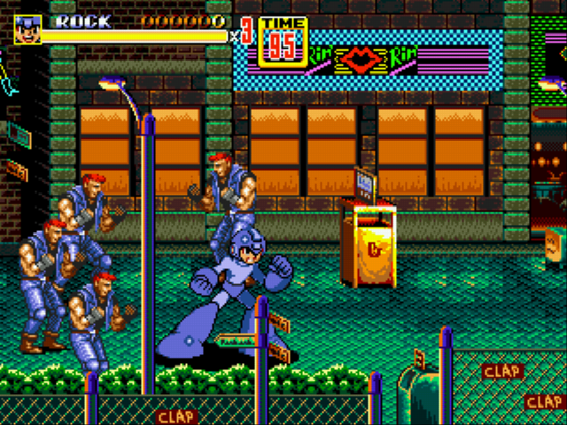 Streets of Rage - Mega Man Edition