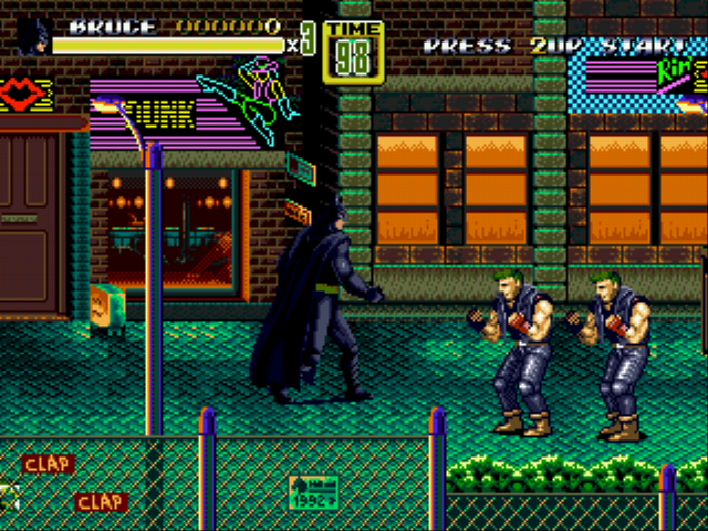 Streets of Rage 2 - DC Comics Heroes Edition