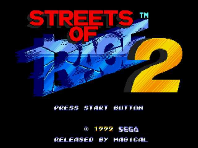 Play <b>Streets of Rage 2 -Shantae</b> Online