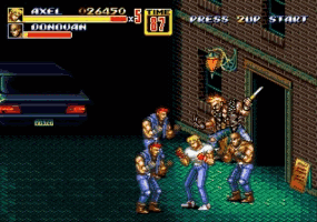 Streets of Rage 2 Screenthot 2