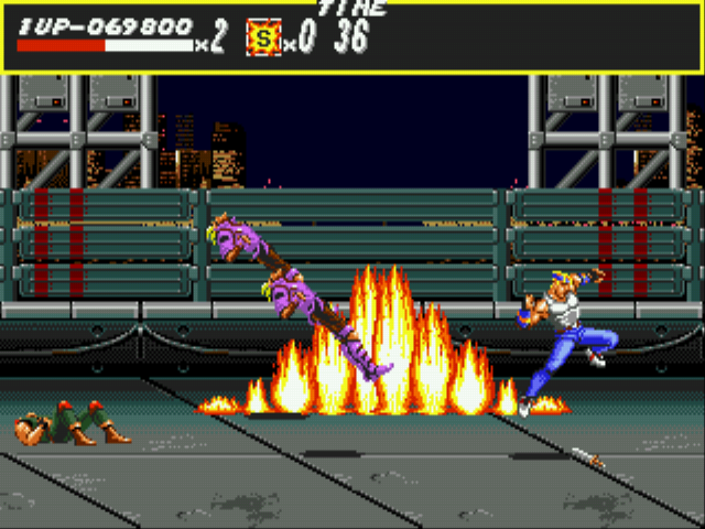Streets of Rage Screenthot 2
