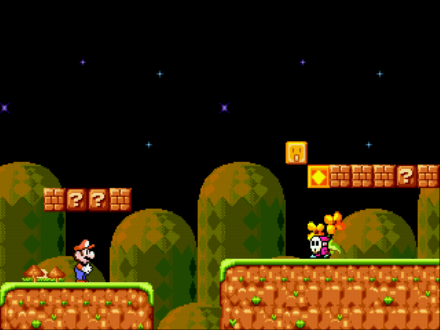 Super Mario 4 - Space Odyssey Screenshot 1