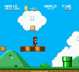 Super Mario Bros II 1998 (hack) Screenshot 2