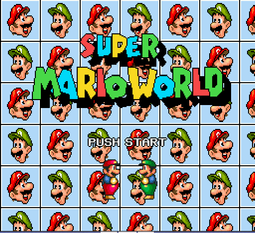 Play <b>Super Mario World (hack)</b> Online
