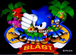 Sonic 3D Blast Game