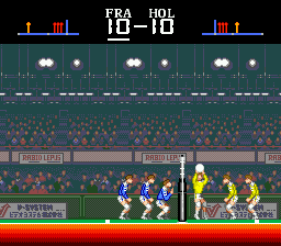 Super Volleyball Screenshot 1