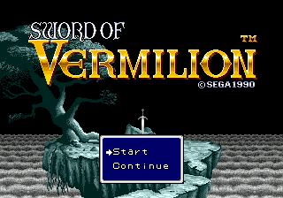 Sword of Vermilion