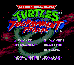Teenage Mutant Ninja Turtles -  Playable Bosses (Tournament Fighters)