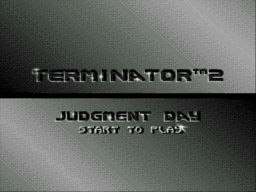 Terminator 2 - Judgement Day Title Screen