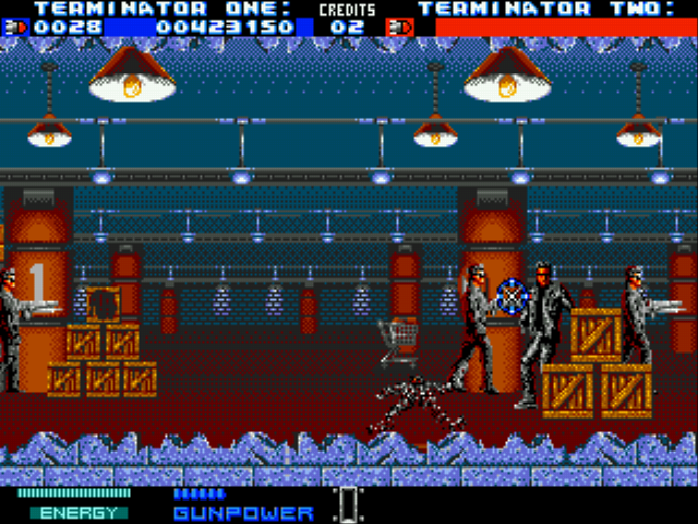 Play Terminator 2 - The Arcade Game online - Sega Genesis game rom