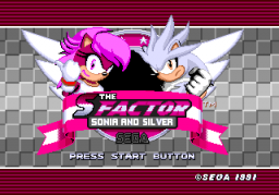 The S Factor - Sonia and Silver Title Screen