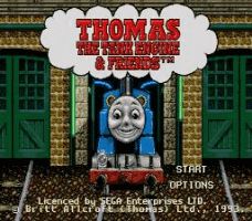 Thomas the Tank Engine and Friends Title Screen
