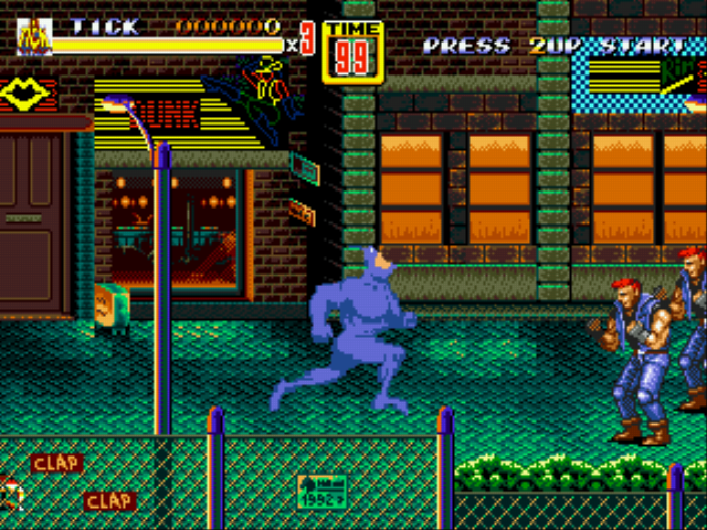 Tick in Streets of Rage 2