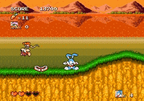 Tiny Toon Adventures - Busters Hidden Treasure Screenshot 1