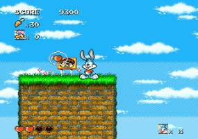 Tiny Toons- Busters Hidden Treas Title Screen