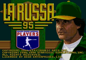 Tony La Russa Baseball '95