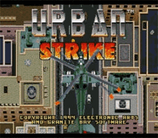 Urban Strike Title Screen