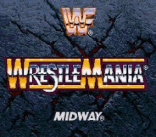 WWF Wrestlemania Arcade Title Screen