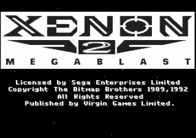 Xenon 2 - Megablast Title Screen