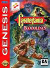 Castlevania - Bloodlines Box Art Front