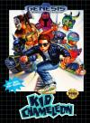 Kid Chameleon Box Art Front