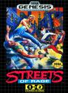 Streets of Rage Box Art Front