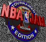 NBA Jam Tournament Edition Title Screen