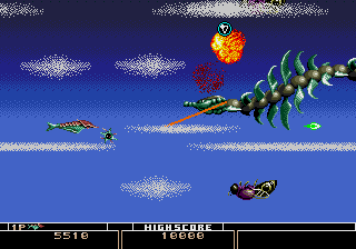 Bio-hazard Battle (Mega Play) Screenshot 2