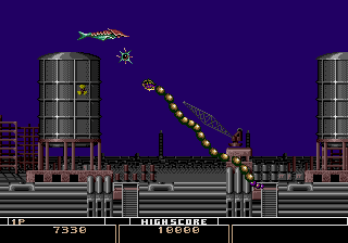 Bio-hazard Battle (Mega Play) Screenshot 3
